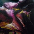Oscuro, 2007, óleo sobre lienzo, 213x150 cm
