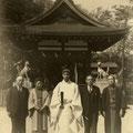 昭和30年4月 舞殿(拝殿)御屋根竣工