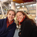 Laure und Heike in Paris