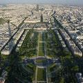 Blick vom Eiffel-Turm auf Montparnasse