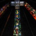 Kathedrale in Rio von innen - deutlich beeindruckender als von außen