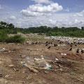 Die Müllhalde von Castanhal.