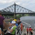 Schlösserfahrt auf der Elbe