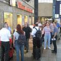 Abfahrt - Freitag 25.07.2008  KA Hbf  9:06 Uhr / Schnell noch einen Kaffee...................