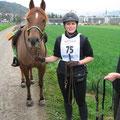 Pony super fotogen und ich mal wieder mit Niffi