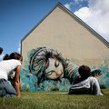 Alice Pasquini (IT) - Rue de Guilers/Rue Shakespeare - Photo : Awll