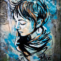 Alice Pasquini (IT) - Descente de Kervallon - Photo : My Te