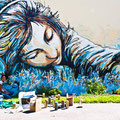 Alice Pasquini (IT) - Rue de Guilers/Rue Shakespeare - Photo : My Te