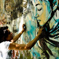 Alice Pasquini (IT) - Descente de Kervallon - Photo : Ti Adam