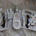 Passion Facade of La Sagrada Família [Barcelona/Spain]