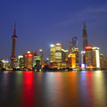 Panorama Pǔdōng New Area with Huangpu River [Shànghǎi - China]