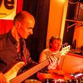 Volker Wadauer bass, Peter Barborik dr