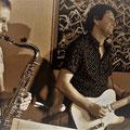 Peter Natterer/sax, Alex Gantz/guit