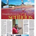 Edizione brasiliana del giornale Metro, del 6 Settembre 2016, con un articolo su Joao Maia
