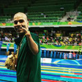 Il nuotatore paralimpico Daniel de Faria Dias, nato il 24 Maggio 1988.