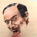 13 : Conception du visage et recherche des teintes (qui n'existent pas sur le modèle d'origine)