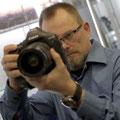 Stefan Czech mit der neuen Canon 1D X
