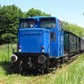 """Die """"Blaue"""" Museumsbahn"""