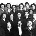 Валентина Васильевна Серегина, наш первый наставник в 1959 году. Строгая, справедливая, ответственная