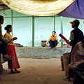 Le Marché, Birmanie.