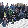 Gruppenfoto auf dem Moléson - und ich mitten drin
