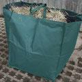 Gleich mitbestellen: Heutasche zum leichten Befüllen der Netze, für max. 12 kg Heu