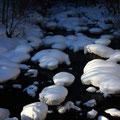 2月上旬・乗鞍高原、新雪の沢