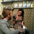 Finn im Interview - (c) Fotos R. Schneider, Voland & Quist, Buchmarkt.de