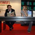 Finn und Stevan: Lesung auf der Messe - (c) Fotos R. Schneider, Voland & Quist, Buchmarkt.de