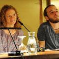 2010, Finn-Ole Heinrich und Alexa Hennig von Lange, Literaturhaus Hamburg