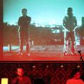 """2010, Hamburg, Finn-Ole Heinrich und Spaceman Spiff, """"Du drehst den Kopf""""-Tour"""