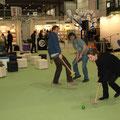 2009, Wir spielen Kricket auf der Leiziger Buchmesse