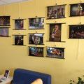 Rétrospective photographique JAZZ360 2012, médiathèque de Latresne. Photographies Christian Coulais