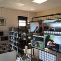 Rétrospective photographique JAZZ360 2013, bibliothèque de Cénac. Photographies Christian Coulais