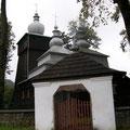 Uście Gorlickie - cerkiew pw. Św. Paraskewy (1786 r.) fot. Edward Szura