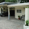 Villa nuova-Manufaktur: Carportanfertigung mit Schuppen