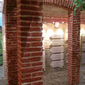 Wandgestaltung mit Steinimitat Paneel M-005 Ziegel Alhambra