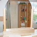 Villa nuova-Manufaktur: Badezimmerspiegel aus Buche