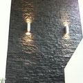 Wandverkleidung mit Steinpaneel M-098 Lajastein schwarz