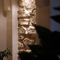 Wandgestaltung mit Steinimitat Paneel M-074 Ginestar ocker