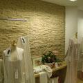 Wandverkleidung mit Steinpaneel M-099 Lajastein ocker