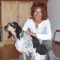 Zitta und ich während einer Behandlung | CH-Bärestwil ZH