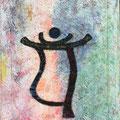 """""""Liebe und Verbundenheit"""" 40x50 cm, Acryl auf Leinwand"""