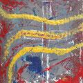"""""""Die Kraft der Muttergottes"""", 40x50 cm, Acryl auf Leinwand"""