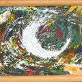 """""""Milchstraße"""", Privatbesitz, 19x25 cm, Acryl auf Leinwand"""