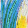 """Chamäleon"", 20x50 cm, Acryl auf Leinwan"