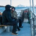 Am Weg in den Trollfjord und zu den Adlern