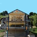 10.06.2014 - Proportion eines konvent. 3stöckigen Chalets mit ausreichenden Geschosshöhen, und .............