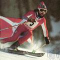 Heini Hemmi 1949 | Mit Vollbart 1976 in Innsbruck zur olymp. Goldmedaille im RS