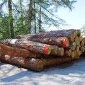 22.08.2015 - Zukunft braucht Herkunft. Echtes Jeiziner-Lärchenholz für die nächsten Winter sichergestellt.